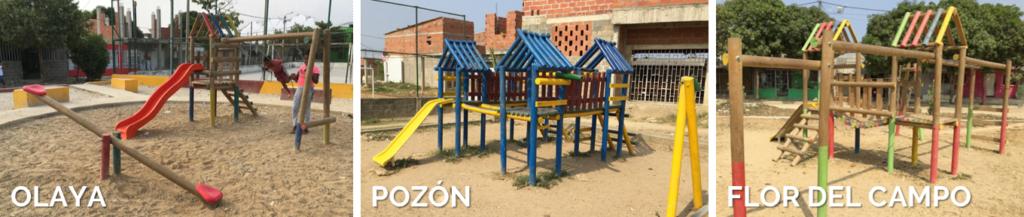 Funcicar identifica presuntas irregularidades en 3 parques contratados en junio de 2018 por la Secretaría de Infraestructura de Cartagena