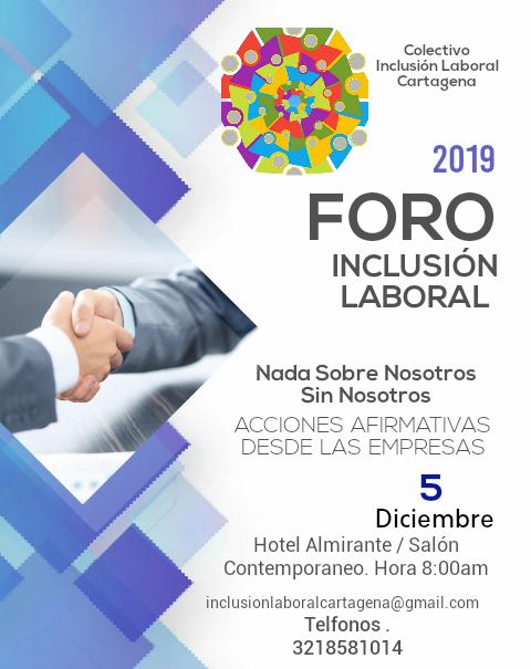 Foro Inclusión Laboral 2019
